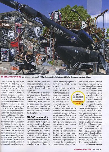 La DDC un sige social en dlire article quotLExpansionquot p2 by Abode of Chaos