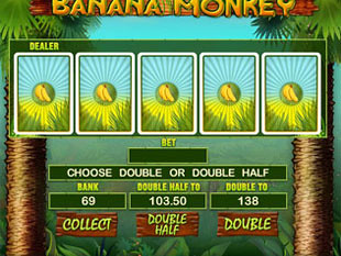 free Banana Monkey gamble bonus game