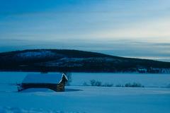 Paysage de Laponie (Eric Massimelli) Tags: analog canon se sweden lapland 100 kiruna canoneos650 rsx agfachrome