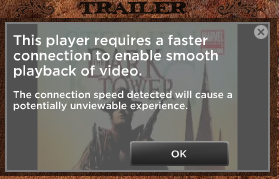 Stephen King DT Trailer UI Message