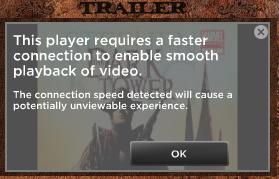 Stephen King DT Trailer UI Message