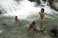 Fun at Hungduan River (TravelnFotog) Tags: mountain nature river children nikon child rice philippines farming d70s terraces roadtrip manmade irrigation ifugao riceterraces luzon cordilleras contouring hungduan travelnfotog hungduanriver