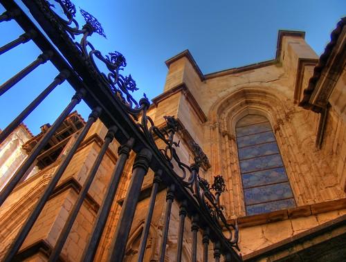 Foto: Leyendasdetoledo en Flickr.com, un rincón en la Puerta del Reloj de la Catedral.