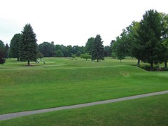 Octagon Mound, Newark, Ohio (amyc500 (FamilyTrees)) Tags: ohio history golf newark mound hopewell moundbuilders octagon earthworks lickingcounty