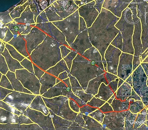 20070630騎乘路線