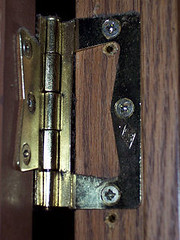 hinge screw doorframe doorhinge screwhole