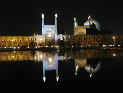 Shah mosque in esfahan-iran
