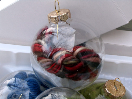 Knitter's Emergency Ornament