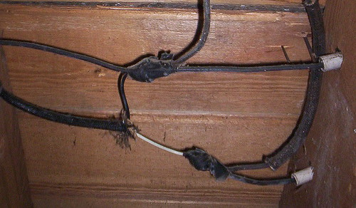 flipping out freaky frugalite rh freakyfrugalite com old electric wiring old electrical wiring nmc
