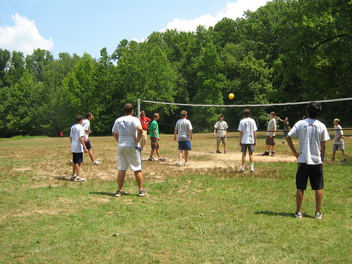Masters of the Volleyball court