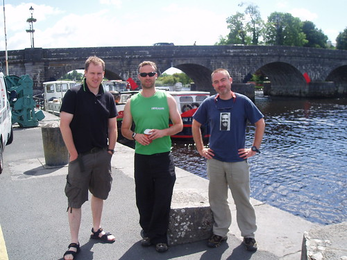 Under the Bridge in Carrick-On-Shannon