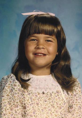 Me in Kindergarten -1987