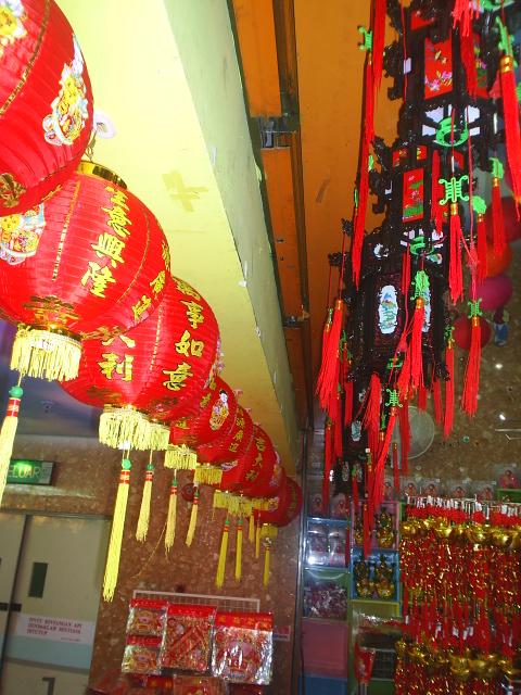 lanterns at hot market