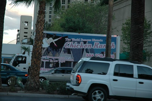 Seen Driving Down the Strip