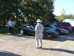 At the Burton Winery (redvette) Tags: corvette rivervalleyvettes redvette tomhiltz