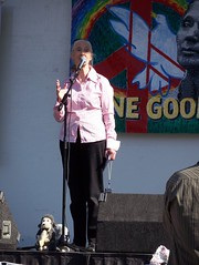 Jane Goodall in LA on Roots & Shoots International Day of Peace 2007