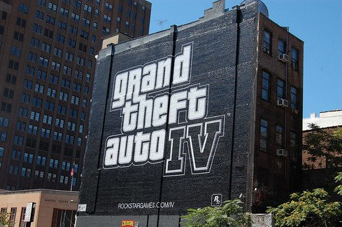Grand Theft Auto IV causing Retail Hype