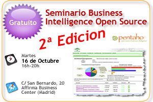 Seminario Gratuito BI Open Source, 16 Oct