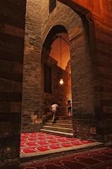 Masjid of Sultan Hassan     / Cairo / Egypt - 28 05 2010 (Ahmed Al.Badawy) Tags: architecture shots 05 egypt cairo sultan hassan 28 ahmed masjid islamic 2010   mamluk  mywinners  albadawy hutect