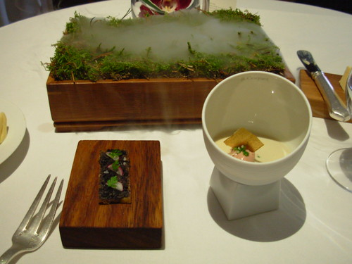 The Fat Duck - Homage to Alain Chapel - Oak Theme