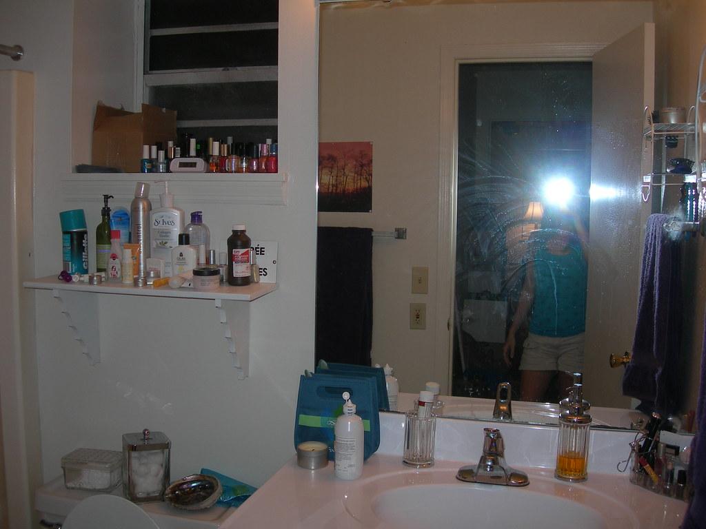 Bathroom--BEFORE