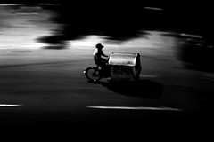 (aznym) Tags: bw bicycle night srilanka colombo xion aznym utata:project=justblack wwwaznymcom