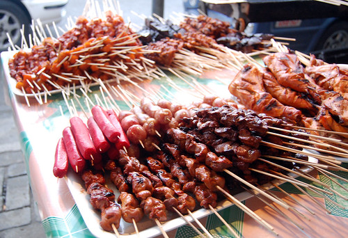 Exotic Filipino Street Food