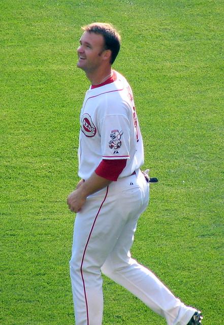Cincinnati Reds catcher David Ross