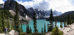 Moraine Lake - Banff National Park - Alberta - Canada ({ Planet Adventure }) Tags: panorama holiday canada wow photography photo interesting bravo photographer ab adventure planet thebest allrightsreserved interessante digitalphotography holidayphotos morainelake canadianrockies stumbleupon copyright travelguide travelphotography digitalworld intrepidtraveler traveltheworld planetadventure colorfulworld worldexplorer amazingplanet by{planetadventure} byalessandrobehling intrepidtravel alessandrobehling stumbleit topphotography holidayphotography alessandrobehling copyright20002008alessandroabehling colorfulearth photographyhunter photographyisgreatfun