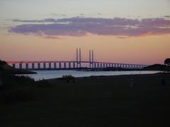 Scandinavia Oresund Bridge Kbenhavn-Malmo (dreamer82) Tags: sunset sweden scandinavia malmo kbenhavn oresundbridge