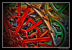 Cog (James Neeley) Tags: tractor utah bravo engine steam cogs gears hdr blueribbonwinner 5xp americanwestheritagecenter aplusphoto jamesneeley bratanesque