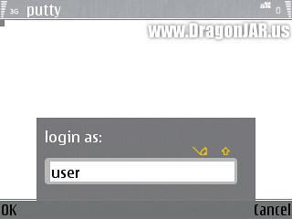 Ejecuta el PuTTy en un Celular con Symbian OS
