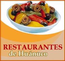 CLICK AQUI PARA VER RESTAURANTES DE HUANUCO