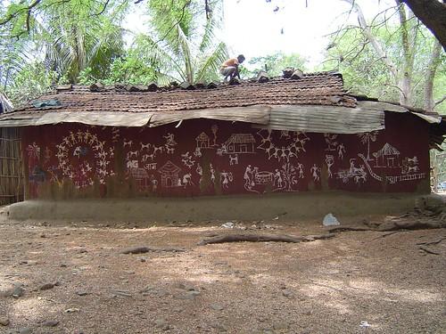 500;Warli Mud House