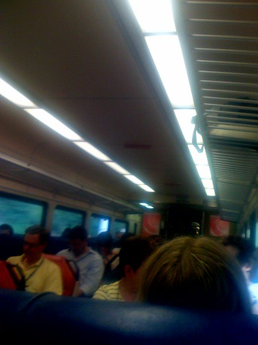 A typical day on Metro North