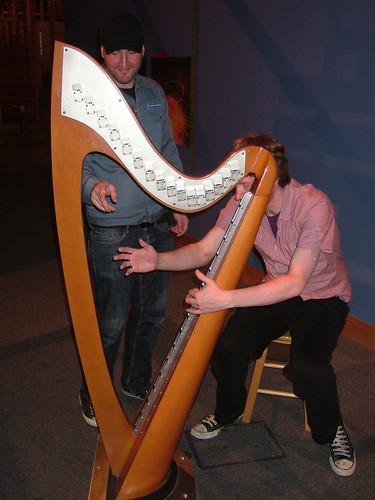 Air Harp at W5 Belfast