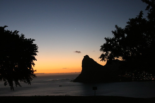 Sunset over the Rocky Outcrop of Hout Bay