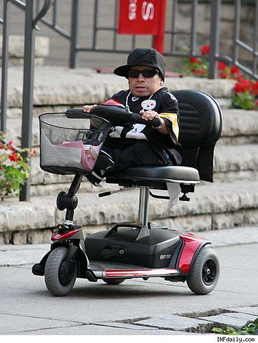 Verne Troyer's Ride