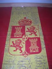 Bandera española de la Guerra de Cuba -1898-