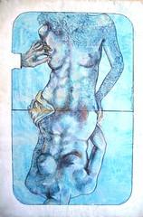 alessandropultrone_touche_001 (alessandro pultrone) Tags: gallery arte pittura cartedagioco alessandropultrone