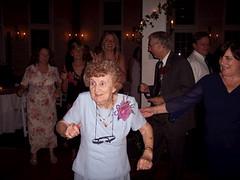 Grandma breaks away! (yanksagain) Tags: wedding terrell casale