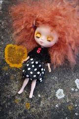 Petite Sleeping Beauty (bioemma) Tags: emma mohair blythe madhatter petite babykitty reroot bioemma bazbykittyamand
