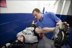 Marshall copy.jpg (bozy10) Tags: ohio men ice hockey club kyle paul athletic team university stretch marshall moore mens trainer bobcats