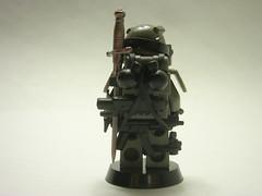 One Man Army... (Saint_Zvlkx) Tags: man army one lego awesome prototype wyvern brickarms