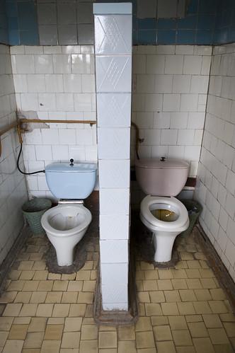 Зарайск. Туалет в гостинице.