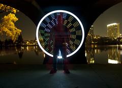 aBlaze (TTYL8R) Tags: color night austin colorful long exposure texas bright tx led atx lapp ashtonsterlingphotography pixelated~light