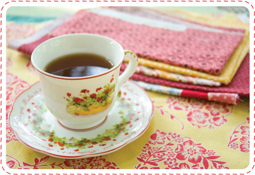 Tea and Fabric