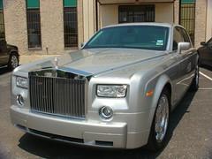 Armored Bulletproof Rolls Royce Phantom
