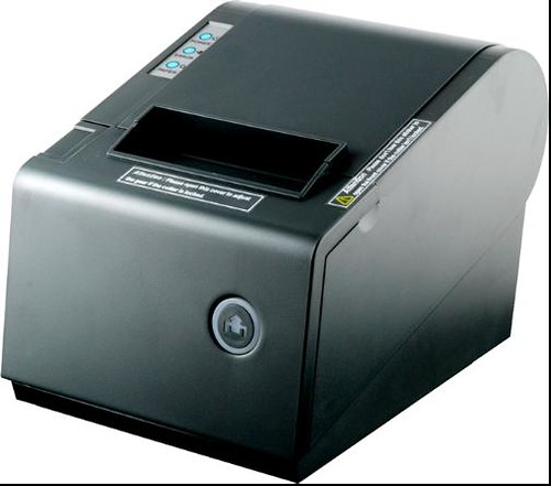 80mm thermal printer with cutter-80220