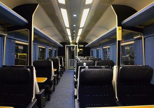 Private First Class Carriage on the Midland Mainline (UK)